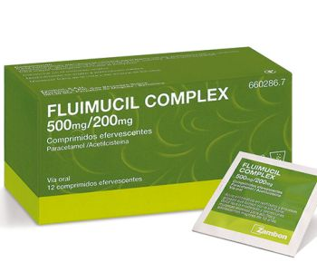 Fluimucil complex 500/200 mg