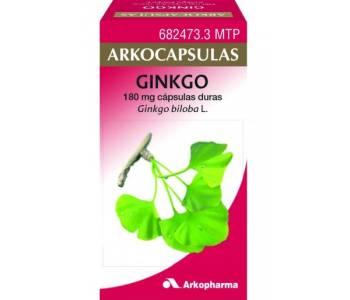 Arkocápsulas ginkgo (180 mg )