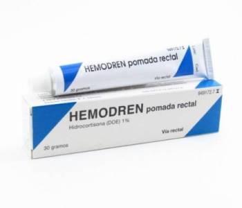 Hemodren rectal