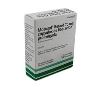 Motosol retard (75 mg)