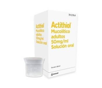 Actithiol adultos (250 mg/5 ml)