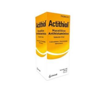 Actithiol mucolitico antihistaminico