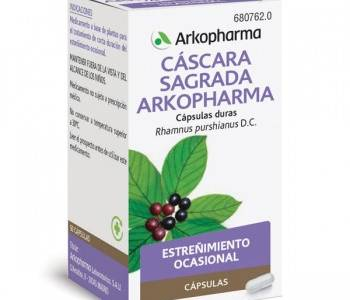 Arkocapsulas cascara sagrada (250 mg)