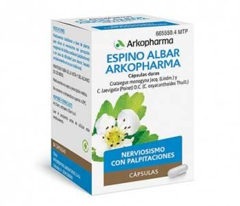 Arkocápsulas espino albar (350 mg)