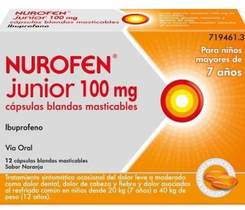 Nurofen Junior 100 mg.