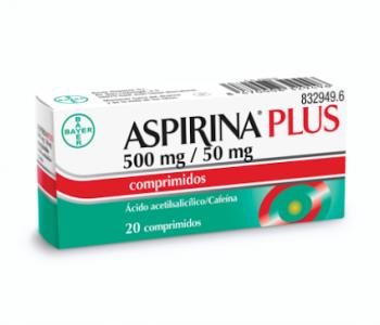 Aspirina plus (500/50 mg)