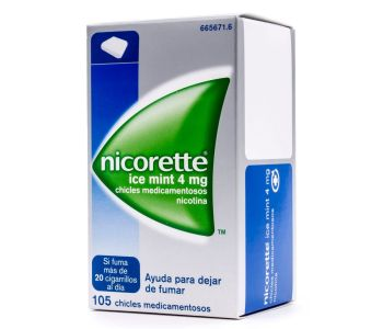 Nicorette ice mint (4 mg)