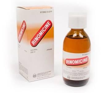 Rinomicine jarabe