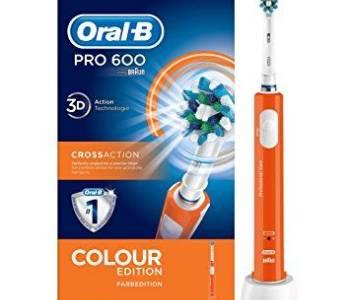 PRO 600 crossaction cepillo dientes eléctrico edición color limitada