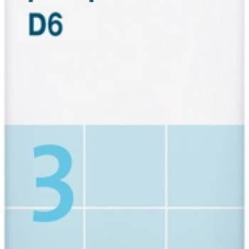 Sal de Schüssler Nº 3 Ferrum phosphoricum