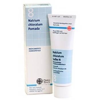 Pomada Schüssler Nº 8 Natrium chloratum 50 g DHU