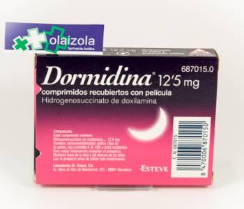 Dormidina (12.5 mg)