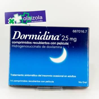 Dormidina 25 mg