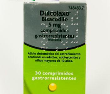 Dulcolaxo bisacodilo (5 mg)