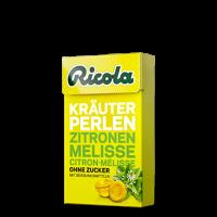Ricola perlas sabor limón melisa 25g
