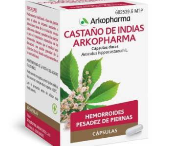 Arkocápsulas castaño de indias (275 mg)
