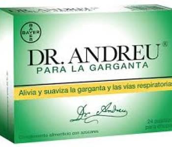 Pastillas Dr Andreu para la garganta