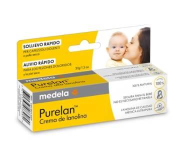Crema de lanolina Purelan