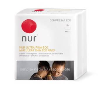 Compresas ecológicas Nur Ultrafina
