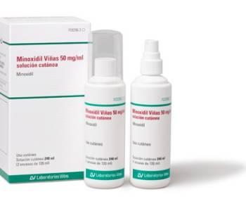 Minoxidil Viñas 50mg/ml