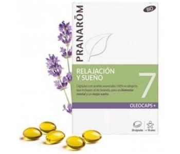 Oleocaps 7 Relajación y sueño