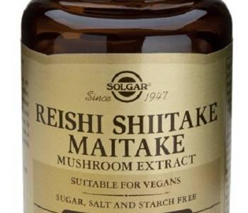 Reishi shiitake maitake