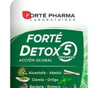 Forte Detox 5 Órganos