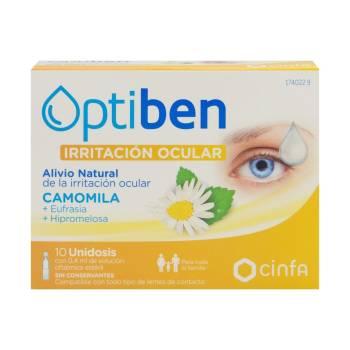 Optibén Irritación Ocular Camomila