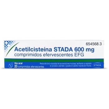 Acetilcisteina Arista 600 mg.